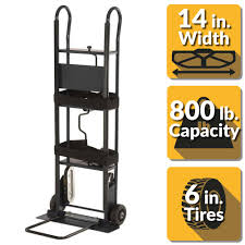 OLYMPIA 800 Lbs. Capacity Appliance Hand Truck-85-038 - The Home Depot Appliance Hand Truck Features Youtube Trucks Moving Supplies The Home Depot With Regard To Impressive Delivery Of Usehold Kitchen Appliances Trucks With Refri R Us Dutro 1900 All Terrain Truck Amazoncom Harper 800 Lb Capacity Steel Roughneck Folding Alinum Item 29063 150 Lbs Foldable Duluthhomeloan Wesco Stairking Electric Walmartcom Magliner Dual Spherd Milwaukee 34 In Tube