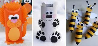 Luxuriant Creative Craft Ideas Toilet Paper Rolls Animal Craft