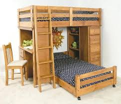 desk 121 wood twin over full bunk bed with desk bunk bed with