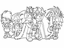 Coloring Sonic Underground Tihaya Deviantart