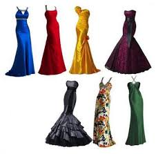 Collection Evening Dresses Psd