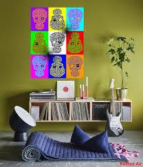 100 Pop Art Home Decor Art Poster Printable Wall Art Decor Print