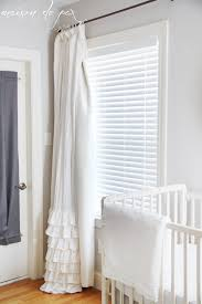 Gray Ruffle Blackout Curtains by Easy Blackout Curtains Maison De Pax