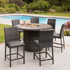 St. Louis 7-piece High Dining Set With Fire Outdoor Resin Ding Sets Youll Love In 2019 Wayfair Mainstays Alexandra Square 3piece Outdoor Bistro Set Garden Bar Height Top Mosaic Small Alinium And Tall Indoor For Home Bunnings Chairs Metric Metal Big Modern Patio Set Enginatik Patio Sets Tables Tesco Grey Sandstone Sainsbur Tableware Plans Wicker Hartman Fniture Products Uk Wonderful High Ding Godrej Squar Glass Composite By Type Trex