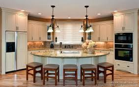Kitchen Center Island Triangular Islands With Seating Features An Within Designs For Kitchens
