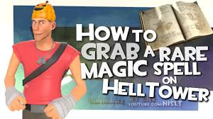 Halloween Spells Tf2 Market by Tf2 How To Grab A Rare Magic Spell On Helltower Halloween 2014