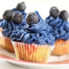 cupcake à la myrtille cuisine plurielles fr