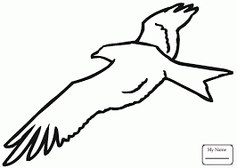 Coloring Pages Kite 2 Kites Birds