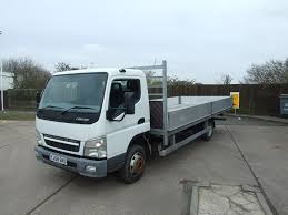 100 20 Ft Truck MITSUBUSHI FUSO FT DROPSIDE 08 Cromwell S
