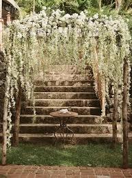 Chic Rustic Wedding Altar Arch Decorations
