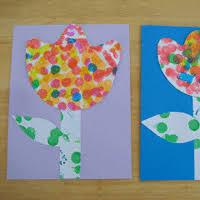 Spring Dot Flowers Toddler Approved