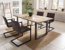 esszimmer essgruppe 5 tlg dunkelbraun silber günstig möbel küchen büromöbel kaufen froschkönig24