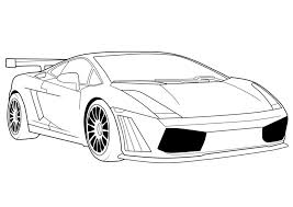 Download Coloring Pages Lamborghini Free Printable For Kids Pictures