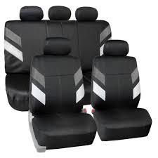 100 Neoprene Truck Seat Covers Auto Airmesh Sedan SUV Van Black White