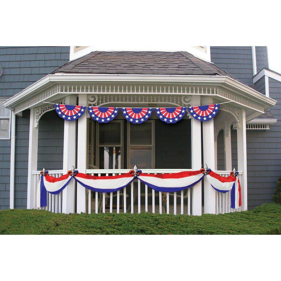 Patriotic Jumbo Flag Banner 25 Feet 73397