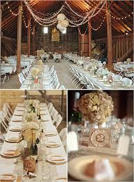 Barn Wedding Reception Tablescape Table Number Idea MadamPaloozaEmporium DecorationsRustic
