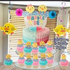 Waddle It BeWaddle Be Cake TopperWaddle Cupcake