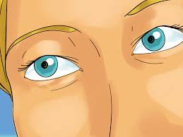 Prescription Halloween Contacts by 3 Ways To Put In Colour Contacts Wikihow