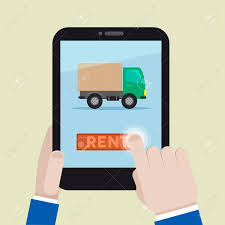 Minimalistic Illustration Of Renting A Truck On A Mobile Device ... 8 Rental Tips When Renting A Truck Or Trailer Rentals In Fort Mcmurray Gosford Rentatruck Hire Bus 4 Yandina Rd Rent Carderobe Penske Reviews Psa If You Are Renting A Truck To Move Do Not Go On Storrow Drive To Avoiding Scary Move Bloggopenskecom Leasing Accidents The Accident Team Delta Car And 3 Easy Steps Vacuum Vac2go Trucks With Brands Increase The Value Trucking Services These