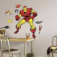 Superhero Comic Wall Decor by 84 Comic Strip Words Vinyl Wall Stickers Iron Man Wall