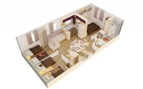 les 3 chambres ardèche cing mobil home 6 personnes 3 chambres