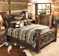 Rustic Bedroom Furniture Love The Probably A Different Bed Spread Though With Turquoise Blue Accents