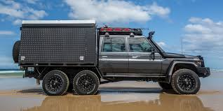 100 6x6 Truck Conversion Toyota 79 Series DualCab 6X6 Unsealed 4X4