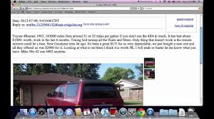 100 Craigslist Oklahoma Trucks Texoma Used Cars And Vans FSBO Popular