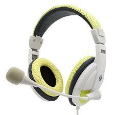 skype de bureau vcom écouteurs de musique avec microphone réglable et contrôle du