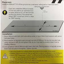 Trx Ceiling Mount Instructions by Trx X Mount