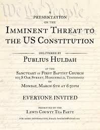 Article V Convention  Publius Huldah s Blog