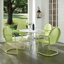 Havenside Home Howard Bay Key Lime 5-piece Metal Outdoor Dining Set Comfortcare 5piece Metal Outdoor Ding Set With 52 Round Table T81 Chair Provence Hampton Bay Mix And Match Stack Patio 49 Amazoncom Christopher Knight Home Lala Grey 7 Chairs Of 4 Tivoli Tub Black Merilyn Rope Steel Indoor Beige Washington Coal Click Pc Stainless Steel Teak Modern Rialto Rectangle 6