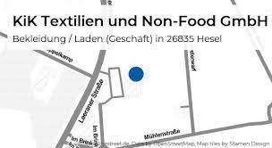 kik textilien und non food gmbh im brink in hesel