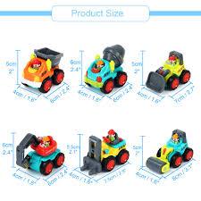 100 Construction Trucks 6 PCSLot Pocket Car Toys Sliding Vehicles Vehicles Toys Push And Go Toy Kids Gift Toys