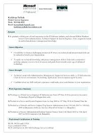 System Administrator Resume Template It Operations Manager 1 2 Administration Sample