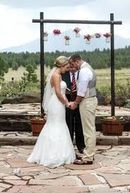 Elegant DIY Wedding Altar Rustic Chic Weddings Arches And On Pinterest