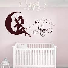 autocollant chambre bébé fée 1