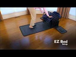 Frontgate Inflatable Bed by Basic Inflatable Ez Bed Youtube