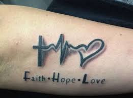 Heartbeat Tattoo With Heart Tattoos For Men Ideas And Inspiration Guys Online Design Interior