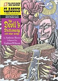 Cover Of The Graphic Novel Version Devils Dictionary