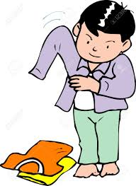 Changing Clothes Clipart 6