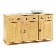 meuble cuisine 3 portes meuble cuisine pin massif buffet commode 3 tiroirs 3 portes pin