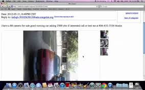 Craigslist Lubbock Used Cars And Trucks - Ford, Dodge And Chevy ...