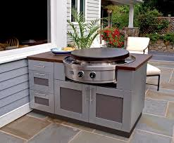 Stupendous Outdoor Kitchen Cabinets Stainless Steel Pleasing