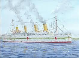 hmhs britannic anchored by rhill555 on deviantart