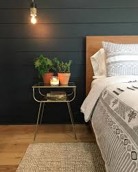 Love The Dark Shiplap As An Accent Wall