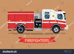 Firefighters Design Element Cool Vector Emergency Stock Vector ...