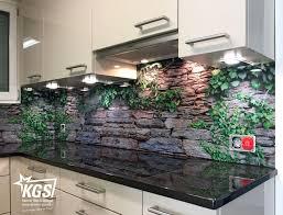 küchenrückwand aus glas mit digitaldruck ihrer