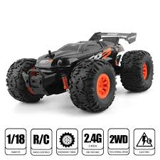 100 Monster Truck Toys For Kids Toyabi 118 RC Car Offroad 24G High Speed RTR Truggy