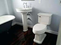 Archer Pedestal Sink Home Depot by Sink Install Kohler White Porcelain Pedestalkohler Archer Pedestal